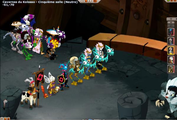Reprise de la guilde et Donjon avec Taw