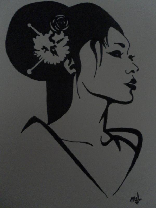 Dessin Chinoise Le Blog De Mel Arts