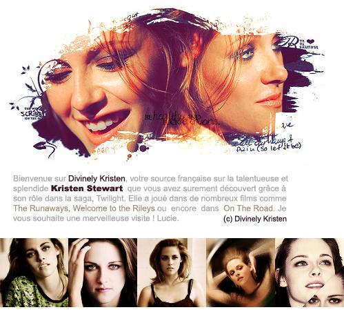 . Ta nouvelle source sur Kristen Jaymes Stewart .
