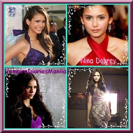 """Nina DOBREV """"Elena Guilbert / Katherine Pierce"""" $)"""