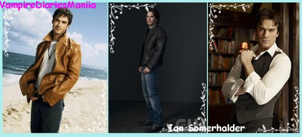 "Ian Somerhalder ""Damon Salvatore"" $)"