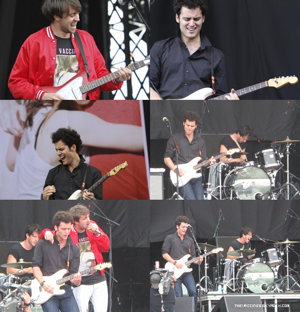 Quelques photos du passage de The Vaccines au festival Lollapalooza à Chicago.