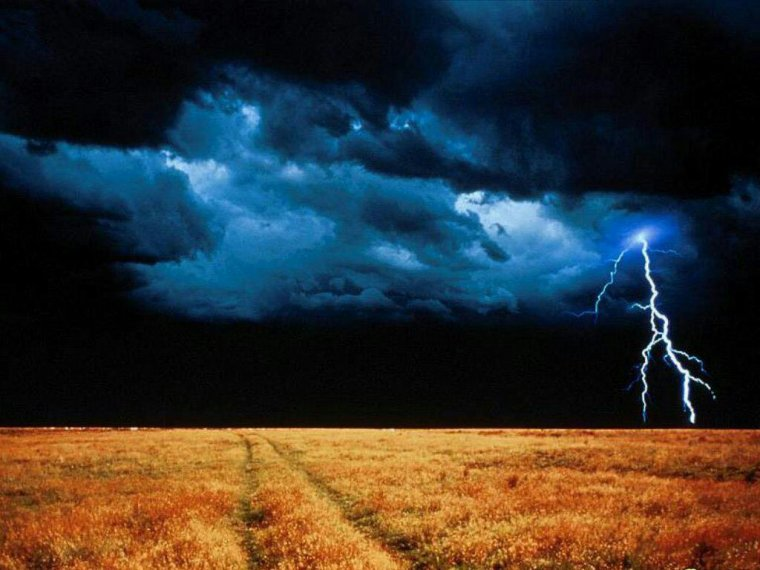 L'orage de la vie.