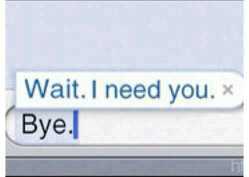 I need you.