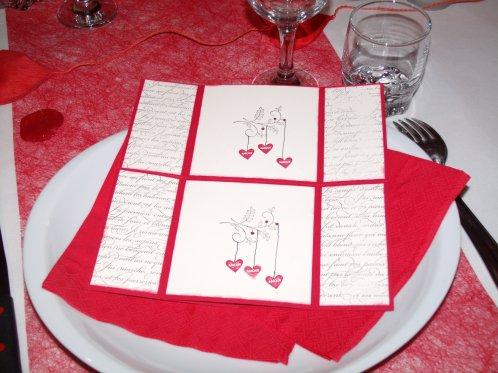 Carte de la Saint Valentin pour mon Mari