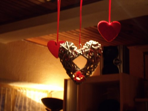 Ma déco pour notre soirée Saint valentin