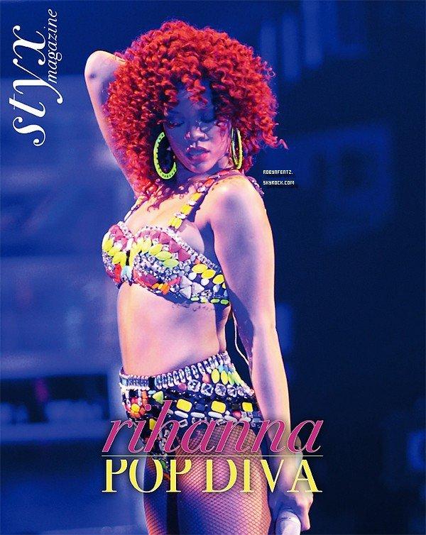 12.12  Rihanna Dans le Magasine  « Styx »