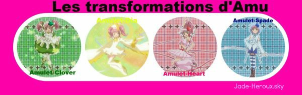 Les quatre transformations d'Amu