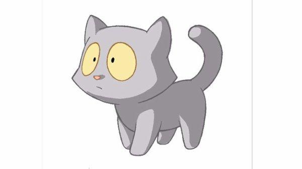 Dessin animé chat