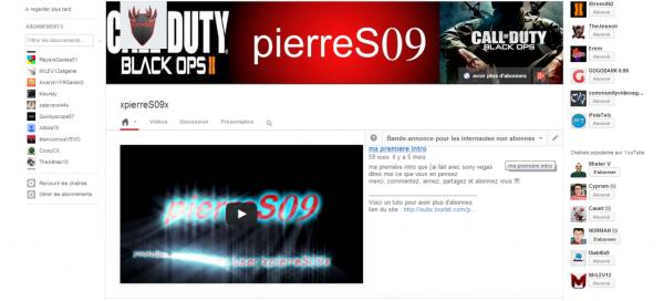 youtube salut a tous