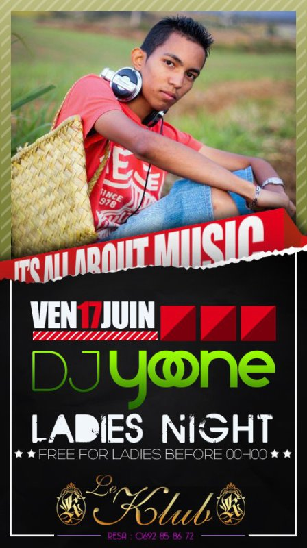 LADIES NIGHT WITH DJ YO-ONE