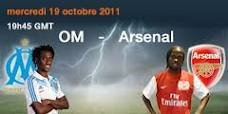 MARSEILLE-ARSENAL  3EME JOURNEE LIGUE DES CHAMPIONS