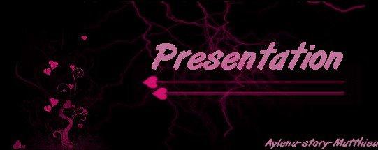 Présentation / Information !!