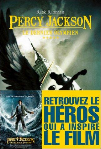 Percy Jackson tome 5: Le Dernier Olympien Rick riordan