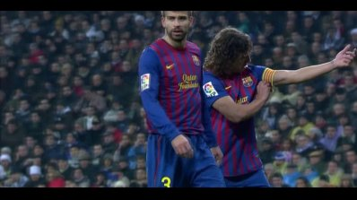Pique & Puyol vs Real Madrid Away 11-12 HD