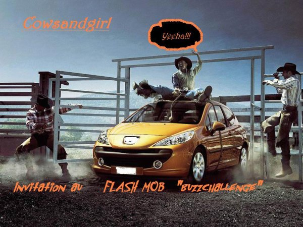 Flash mob buzzchallengers (24h de clic)