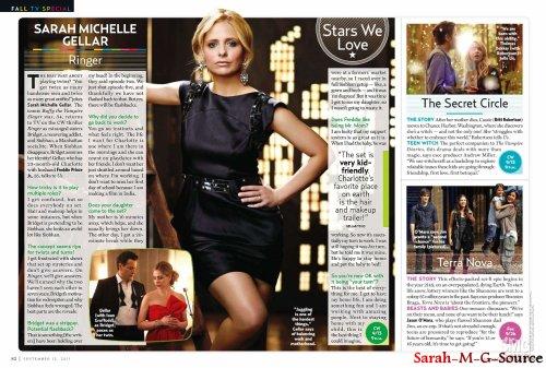 Sarah dans le magazine US WEEKLY