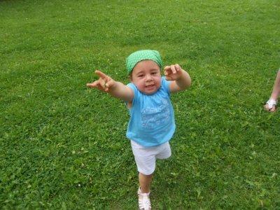 24-09-2012 : Bon Anniversaire à la Petite Soeur de Noëmie, Sirine (2 ans)