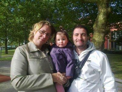 Noëmie, Kathleen (sa Nièce et Filleule) et Laurent