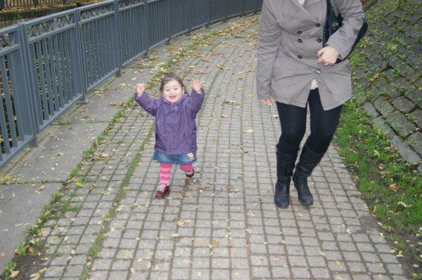 Ballade avec notre nièce Kathleen (filleule de Noëmie)