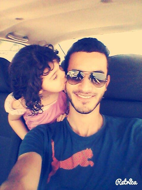 selfi avec ma petite niéce :D