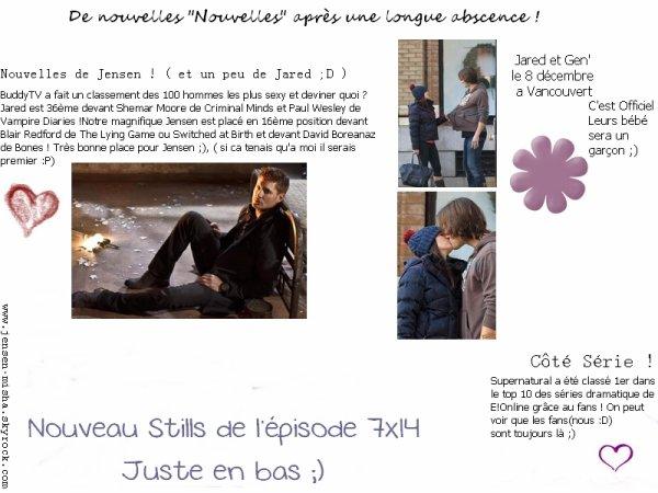 Nouvelles De Jensen & Misha ;)