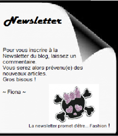 Newletter ♥