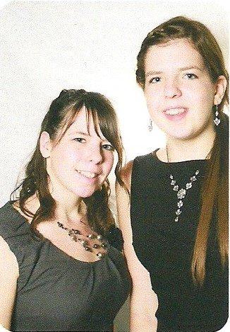 Moi et ma soeur =)