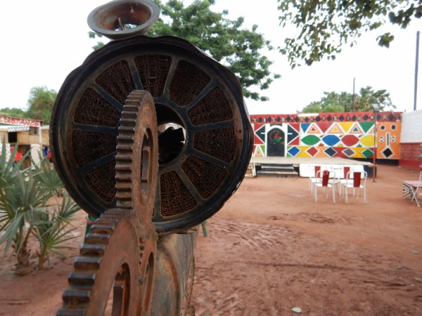 Empty stages in Ouagadougou, Burkina Faso