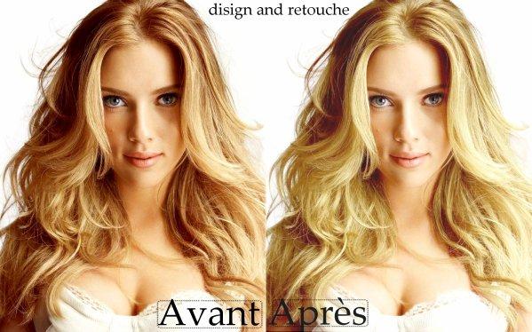 Changer la couleur de cheveux photofiltre