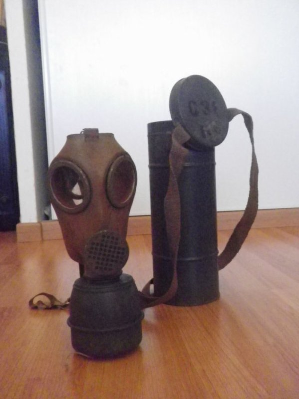 masque a gaz defense passive ww2
