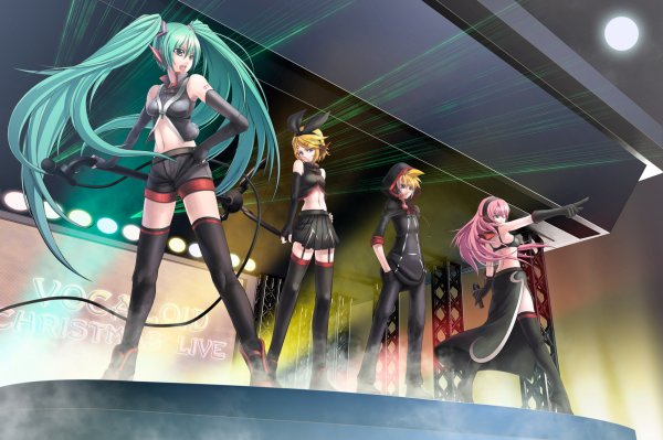 Fond d'écran Vocaloid ^^