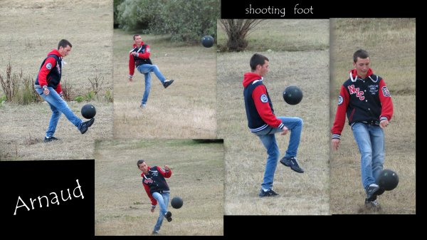 shooting foot