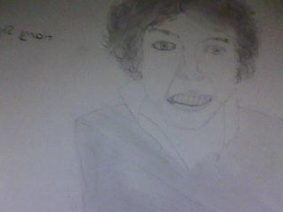 Mon dessin d'Harry Styles ;P lol