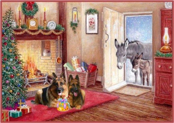 Noël avec retard