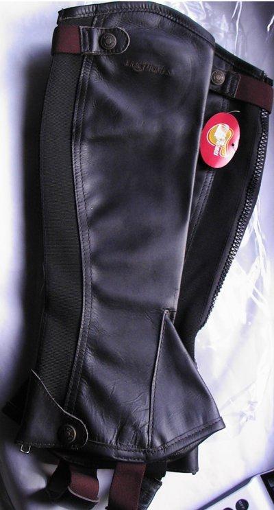 Chaps eric thomas-cuir noir 35 euros