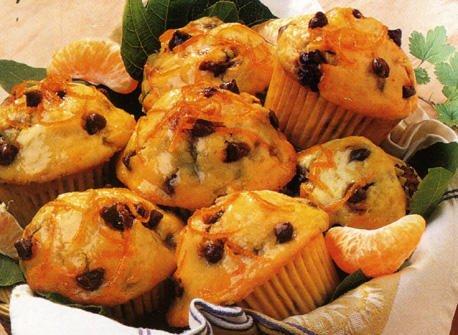Muffins au pépites de chocolat