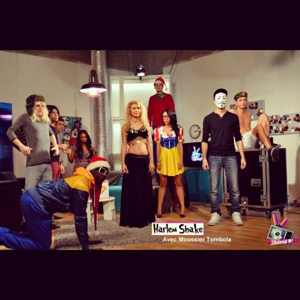 Harlem Shake de la WebRealTv avec Moussier Tombola