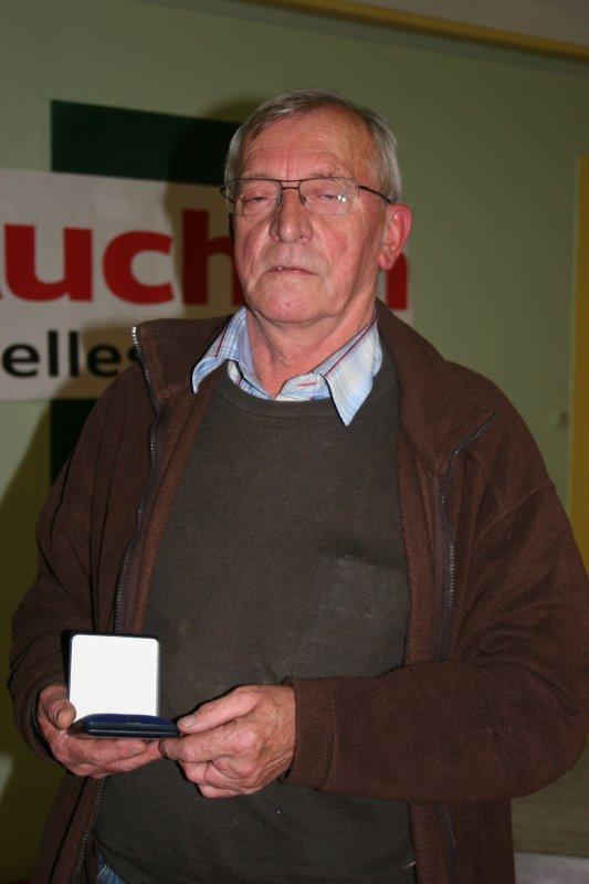 MEDAILLE DE LA RECONNAISSANCE DE LA FCF: BULTEZ Richard