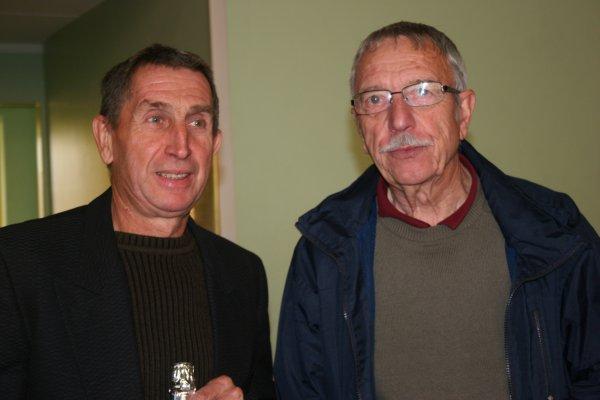 Deux champions de l'entente de Dourges: SOYEZ Francois et Walter KOSTUJ