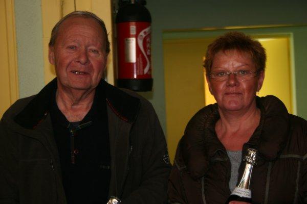 Deux champions de La Plume Arthèsienne: LESSENCE Henry et DOYENETTE Nadine
