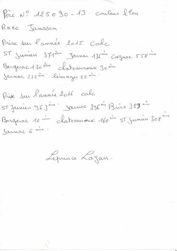 N°26 PRINCESSE OFFERTE PAR LEPRINCE LOGAN N°153447/16