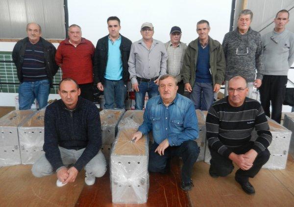 Les lauréats de la dotation du 16/07 sur Chateaudun 1 panier alu 12 cases