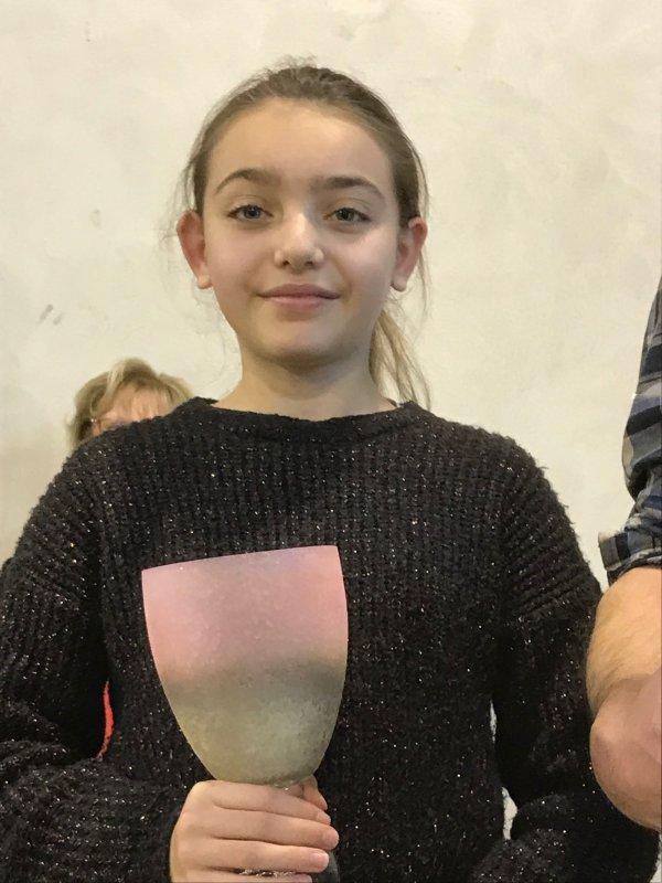 Une ESTEVELLOISE à la deuxième place du concours régional du meilleur jeune colombophile