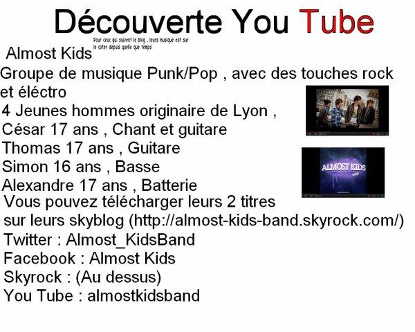 Découverte YouTube 2