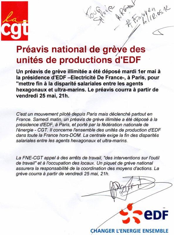 Une gréve EDF menace une coupure générale d'électricité en France le jour du lancement