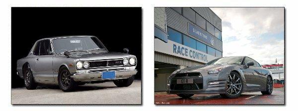 ★ Nissan Skyline GT-R 1969 / GT-R 2012 ★