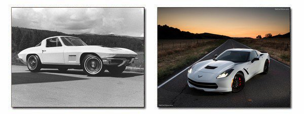 ★ Chevrolet Corvette C2 Sting Ray / C7 Stingray ★