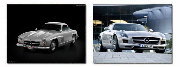 ★ Mercedes-Benz 300SL Gullwing / SLS AMG ★