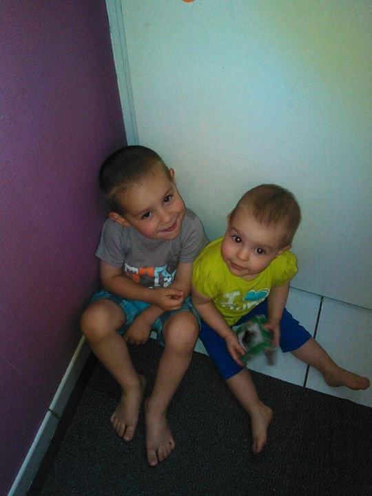 les amours de ma vie a moi  je vous aimes fort mes enfants